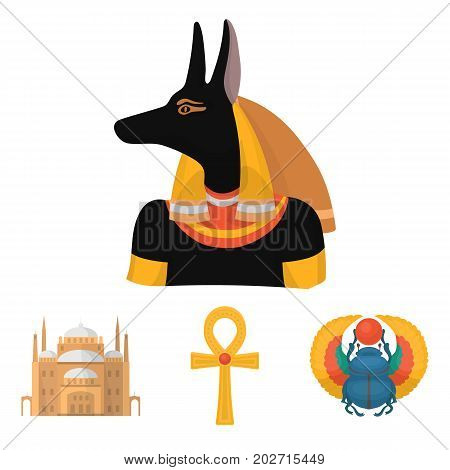 Anubis, Ankh, Cairo Vector & Photo (Free Trial) | Bigstock