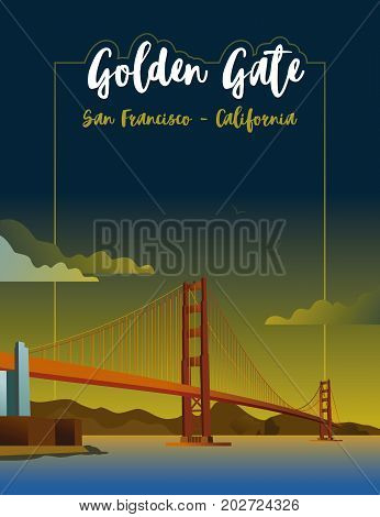 Golden Gate in the city of San Francisco