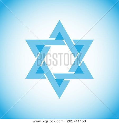 Star Of David, A Symbol Of Israel, Hebrew