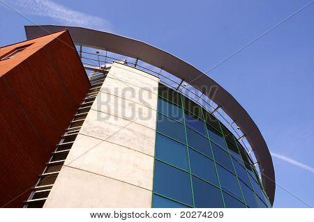 Modern Corporative building, detailed