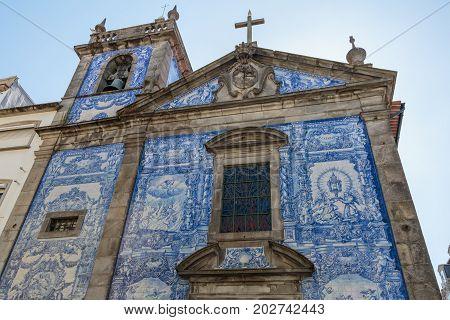 Capela Das Almas - Chapel Of Souls Or Capela De Santa Catarina In Porto, Portugal