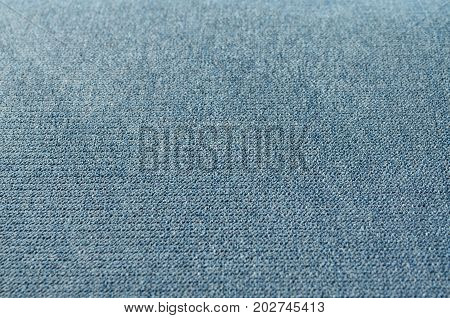 Pattern of blue gray flannel texture and background
