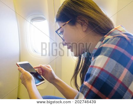 Happy Leisurely Woman Going To Travel On Holiday