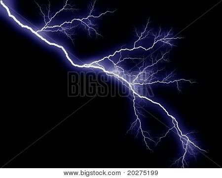 Blue Lightning, sidelong