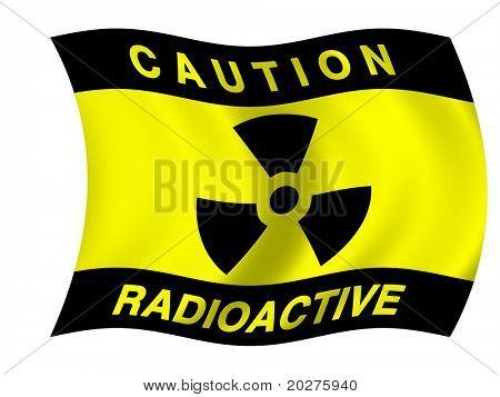 Radiation flag
