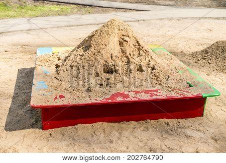 Sand In Sandbox