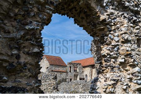 Old Doorway At Castle Acre Priory