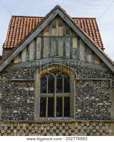 Pretty Architecture At Framing Castle Acre Priory