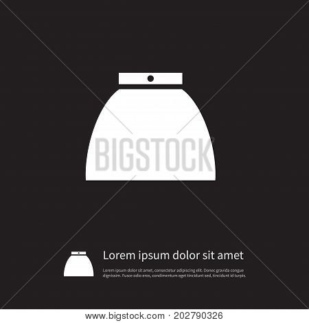 Gown Vector Element Can Be Used For Gown, Skirt, Clothes Design Concept.  Isolated Clothes Icon.