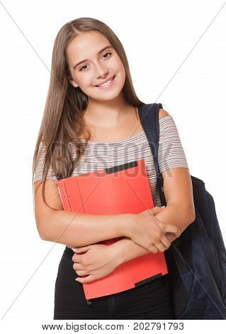 Attractive Young Student.