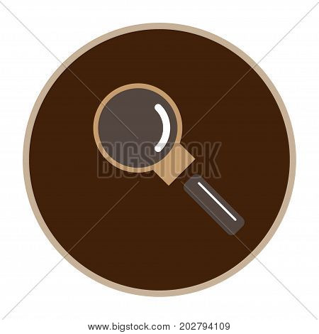 zoom icon, vector logo for your design, symbol, application, website