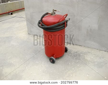 Fire Extinguisher. Fire Extinguisher. Equipment For Extinguishin