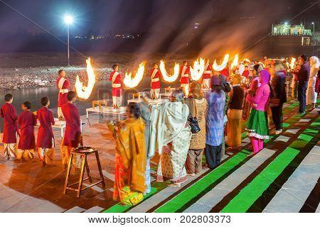 Ganga Aarti Ceremony