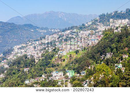 Gangtok Aerial View
