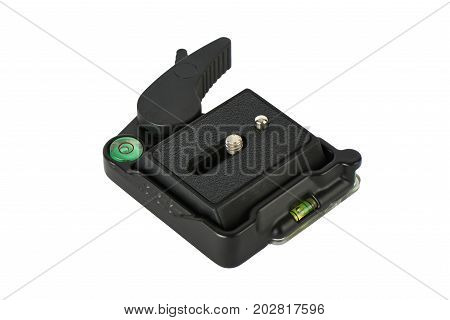 Quick Release Plate With Level Measuring Tools.