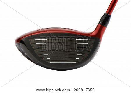 Face Of Golf Club Driver Head