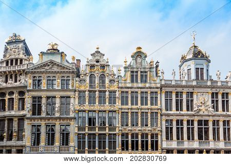 Grand Place - landmark of Brussels