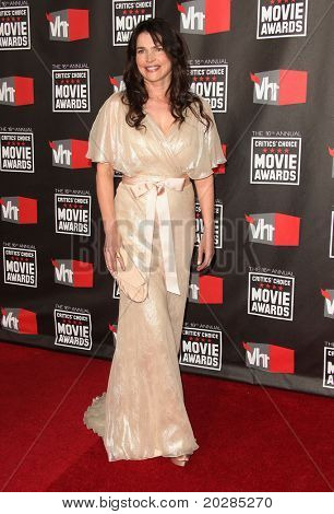LOS ANGELES - JAN 14:  Julia Ormond arrives to 16th Annual