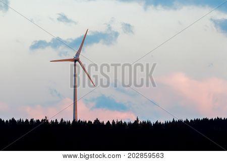 Modern Wind Turbine