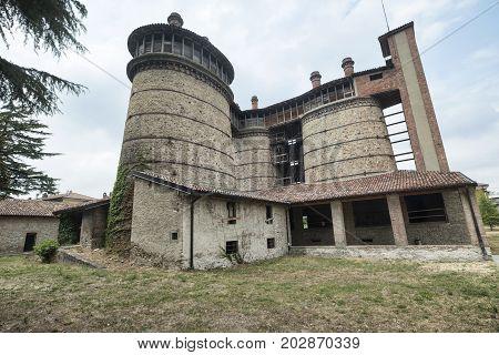 Ponte dell'Olio (Piacenza Emilia-Romagna Italy): the historic furnace