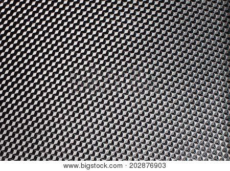 abstract image of cubes background chrome structure