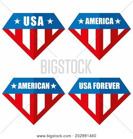 United states of America Vector logos USA