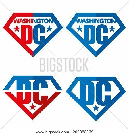 United states of America Vector logos USA Washington DC