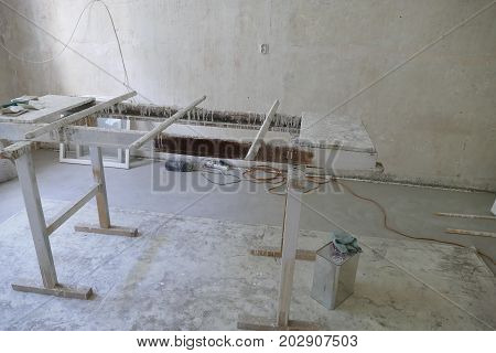 Reconstruction Of An Old Historical Building