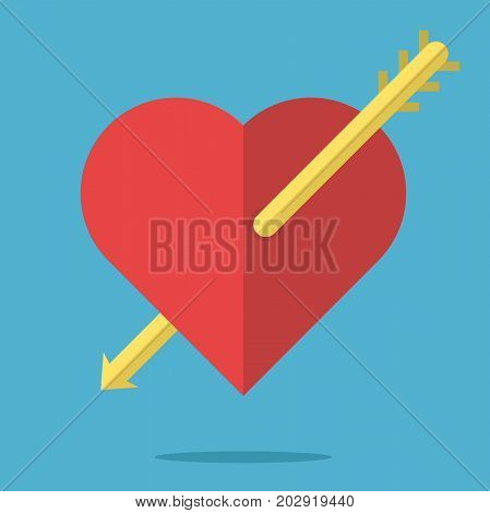 Heart Pierced By Arrow