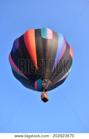 Lincoln, Illinois - Usa - August 25, 2017: Lincoln Balloon Fiesta