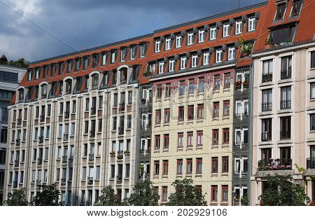 Renaissance Buildings Restored In East Berlin With European Styl