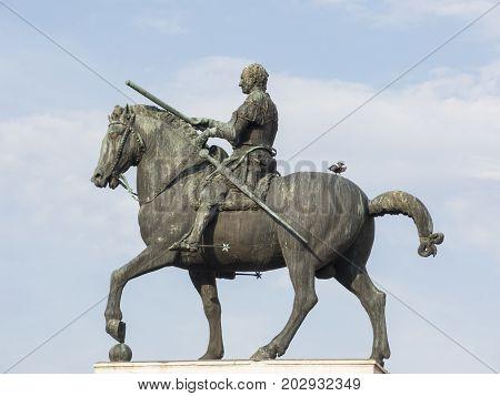 Equestrian Monument At Gattamelata