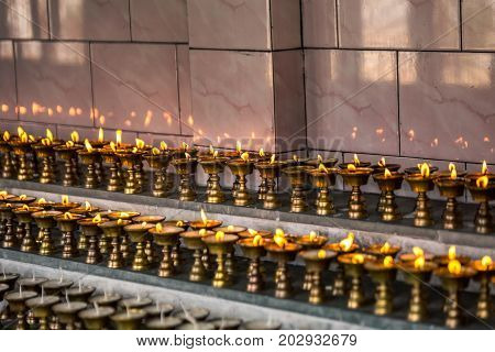 Dali buddhist Monastery  Darjeeling West Bengal, India.