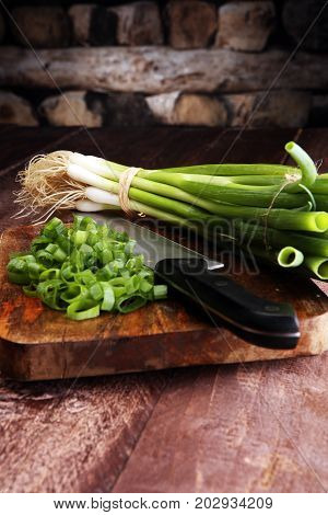 Spring Onions Are Rich In Vitamins,minerals And Natural Compound