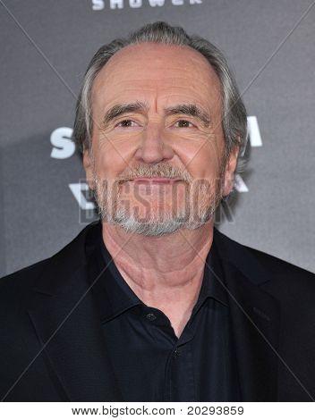LOS ANGELES - APR 11:  Wes Craven arrives to