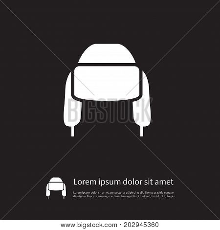 Pompom Vector Element Can Be Used For Woolen, Pompom, Beanie Design Concept.  Isolated Woolen Icon.