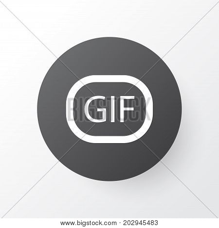 Premium Quality Isolated Gif Sticker Element In Trendy Style.  Animation Icon Symbol.