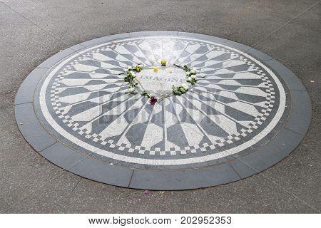 Strawberry Fields, The John Lennon Memorial