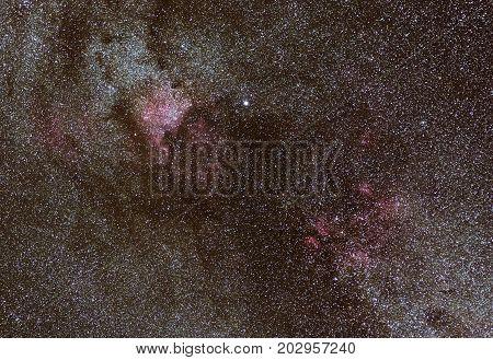 Sagittarius Nebulas