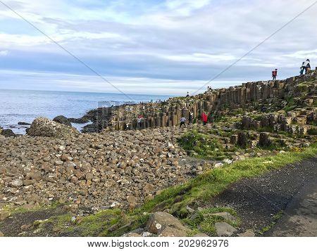 Northern Ireland Ocean Scenery, Giants Causeway