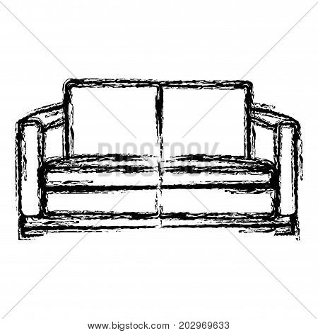 Comfortable Couch Isolated