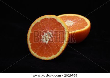 Bloodorange Halved