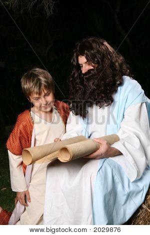 Religious Man Teaching The Scriptures