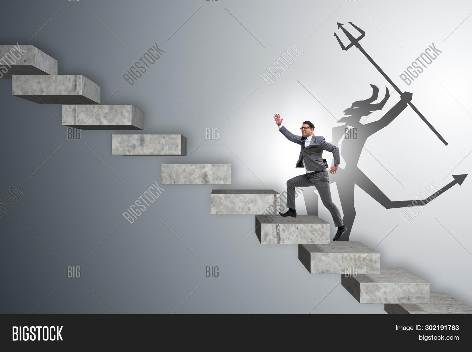 Businessman Alter Ego Image & Photo (Free Trial) | Bigstock