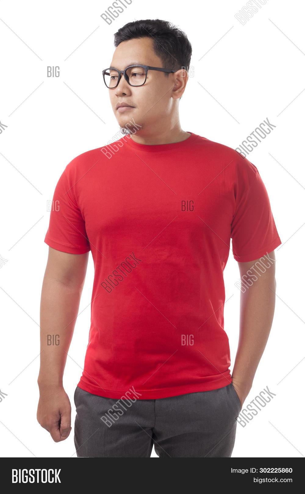 Red Shirt Design Image Photo Free Trial Bigstock