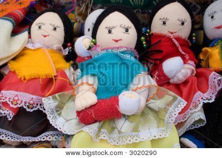 Handmade Latino Dolls