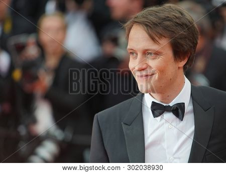 August Diehl attend the screening of