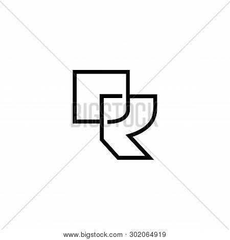 Monogram Initial R, R Vector & Photo (Free Trial) | Bigstock