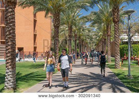 Unidentified Individuals At Arizona State University