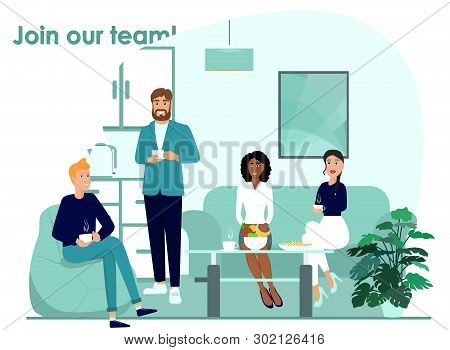 Adaptation Vector Icon. Team Work Concept Illustration. Join Workers Team Realistic Style Design, De